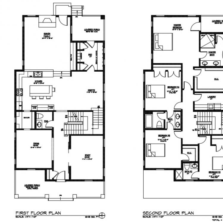 4705 MIddaugh - Floorplan